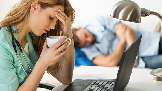 What Causes High Nurse Burnout Scores?